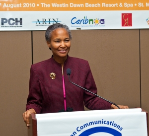 Bernadette Lewis, Secretary General of the Caribbean Telecommunications Union